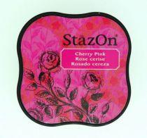 STAZON MIDI INK PAD CHERRY PINK