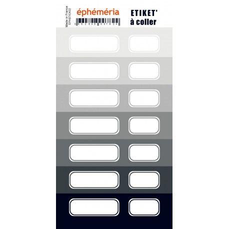 STICKERS EPHEMERIA GRIS