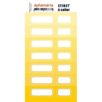 STICKERS EPHEMERIA JAUNE