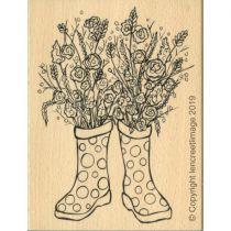 TAMPON BOIS - Bouquet de Printemps