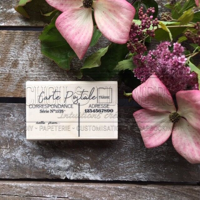 TAMPON BOIS - Carte Postale