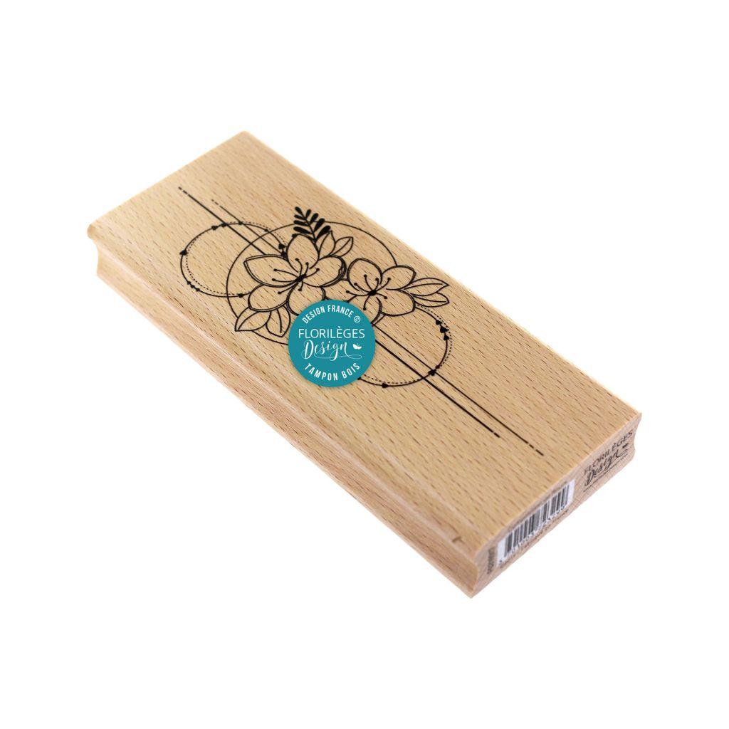 TAMPON BOIS - Composition de Fleurs