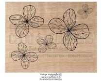TAMPON BOIS - Fleurs Légères