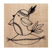 Tampon bois Hygge Bird