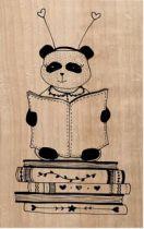 Tampon bois Mme Panda