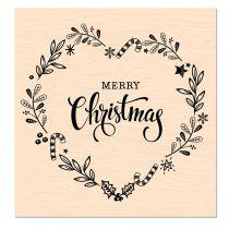 TAMPON BOIS WOODLAND  -  Merry Christmas