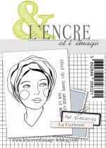 Tampon clear - La Curieuse - L\'Encre et l\'Image