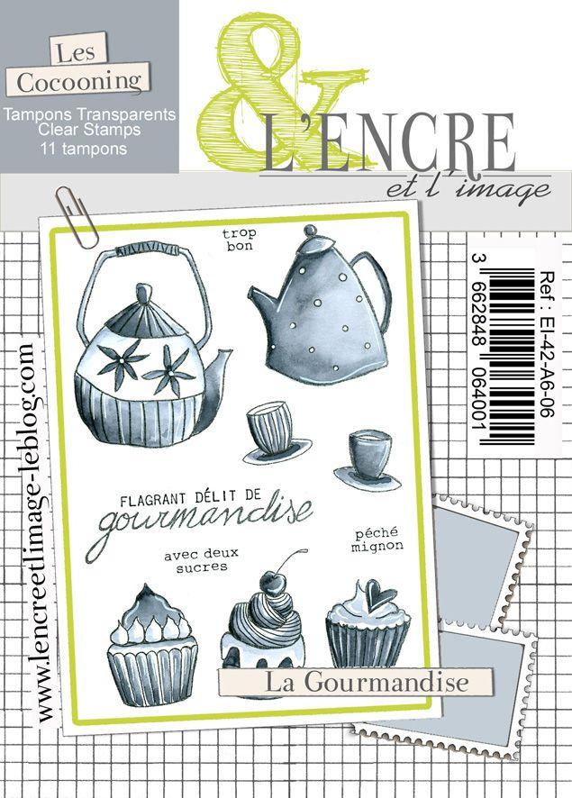 Tampon clear - La Gourmandise - L\'Encre et l\'Image