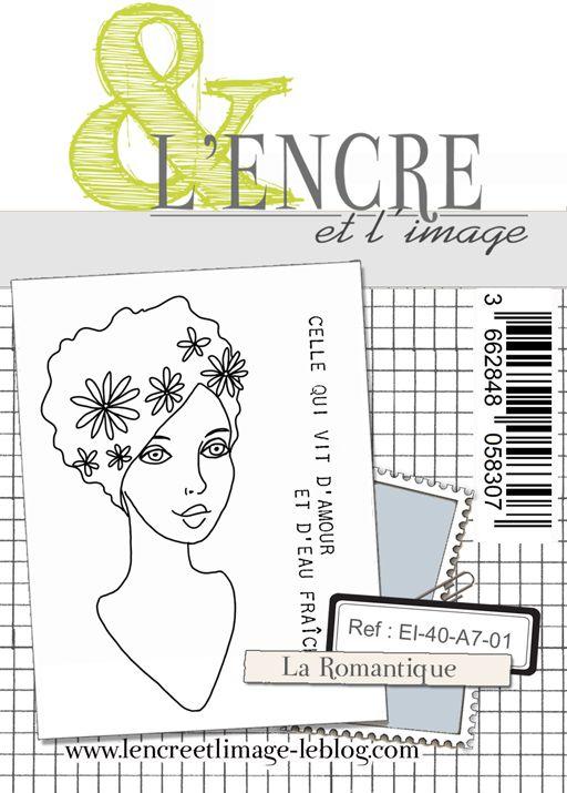 Tampon clear - La Romantique - L\'Encre et l\'Image