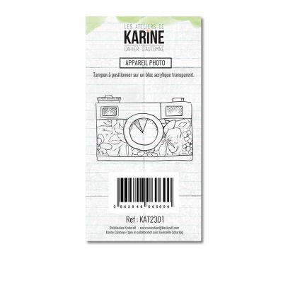 Tampon clear Appareil photo 1 motif- Les Ateliers de Karine
