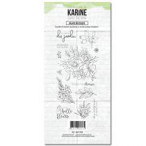 Tampon clear Balade bucolique 13 motifs- Les Ateliers de Karine