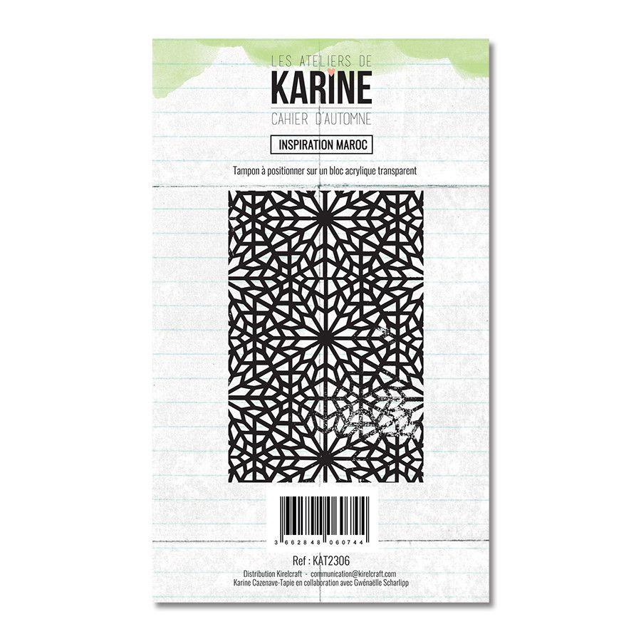 Tampon clear Inspiration Maroc 1 motif- Les Ateliers de Karine