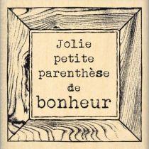 TAMPON PARENTHÈSE DE BONHEUR