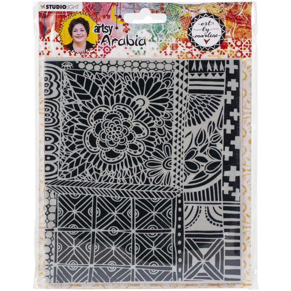 Tampon Texture Plate Artsy Arabia N°03
