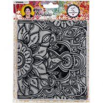 Tampon Texture Plate Artsy Arabia N°04
