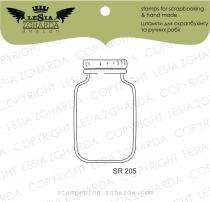 TAMPON TRANSPARENT - Glass Jar