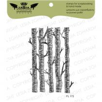 TAMPON TRANSPARENT ARBRES - Forest Trees