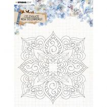 Tampon transparent Collection Celebrate New Beginnings - n° 519