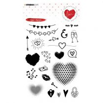 Tampon transparent Collection Filled with Love - n° 508