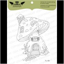 TAMPON TRANSPARENT MAISON CHAMPIGNON - Fairy Tale House