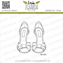 TAMPON TRANSPARENT SANDALES - Sandals with Ribbons