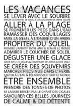 Tampons clear Les vacances - Mes Ptits Ciseaux