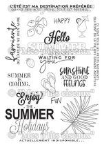 Tampons clear Summer - Mes Ptits Ciseaux