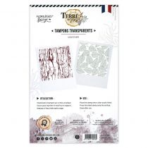 Tampons clear TEXTURES D\'AUTOMNE