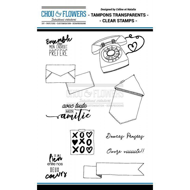 TAMPONS TRANSPARENTS - Amitié 1