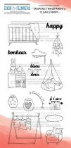 TAMPONS TRANSPARENTS - Chambre Enfant 1