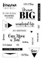 TAMPONS TRANSPARENTS - DREAM BIG