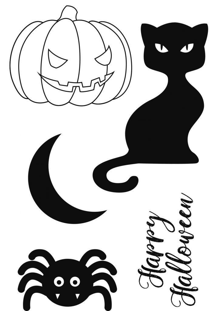 TAMPONS TRANSPARENTS - Happy Halloween