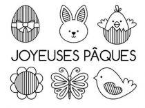 TAMPONS TRANSPARENTS - Joyeuses Pâques
