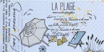 TAMPONS TRANSPARENTS - La Plage