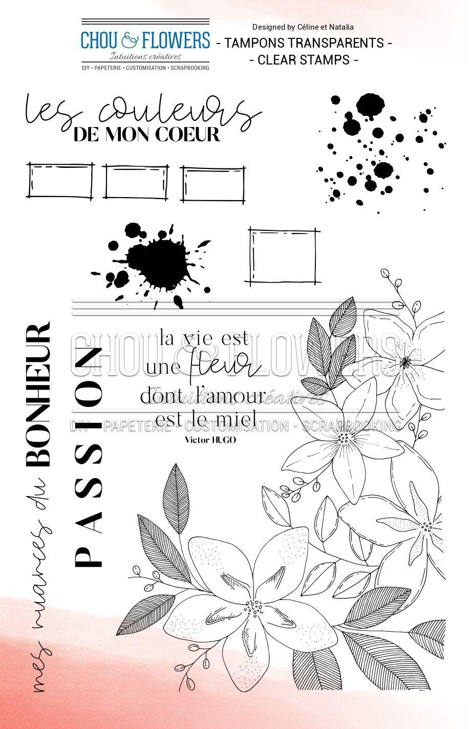 TAMPONS TRANSPARENTS - La Vie est une Fleur
