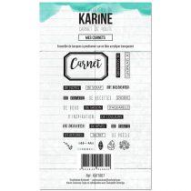 TAMPONS TRANSPARENTS CARNET DE ROUTE - Mes Carnets