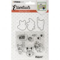 TAMPONS TRANSPARENTS ET DIES ESSENTIALS - Chiens et chat