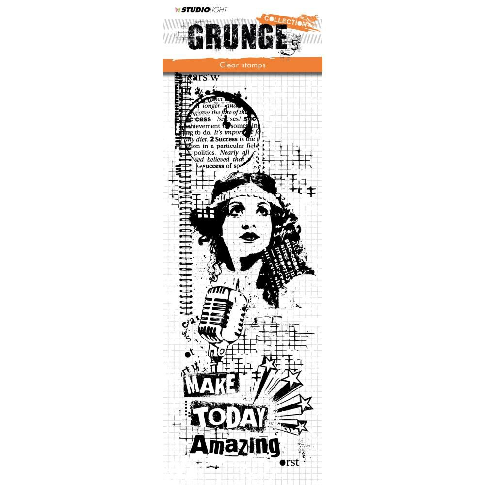 TAMPONS TRANSPARENTS GRUNGE - Make Today Amazing