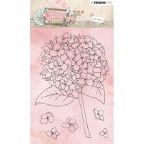 TAMPONS TRANSPARENTS LOVELY MOMENTS - Arbre en Fleurs
