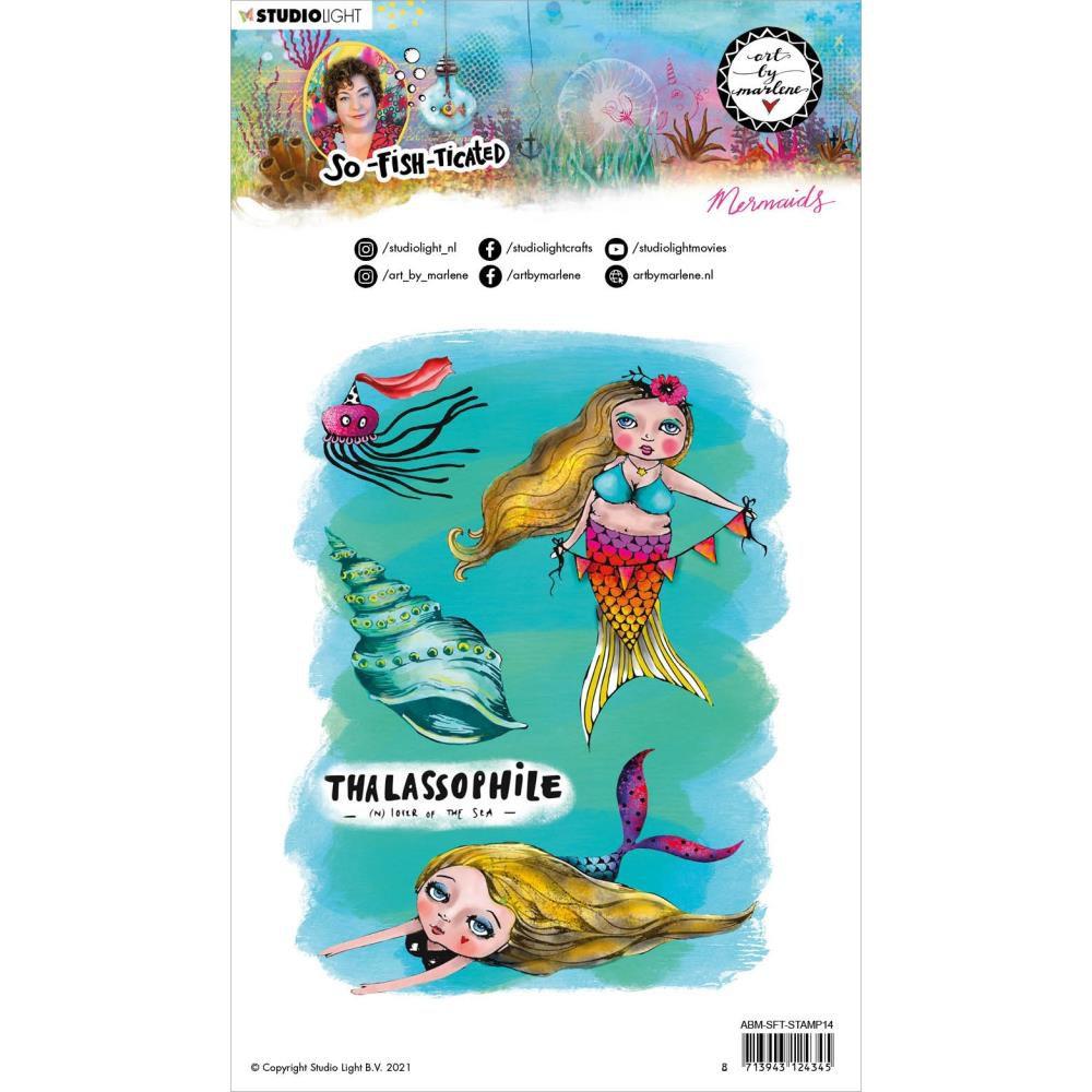 TAMPONS TRANSPARENTS Nr.14, Mermaids