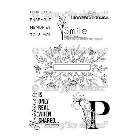 TAMPONS TRANSPARENTS O JARDIN - Smile