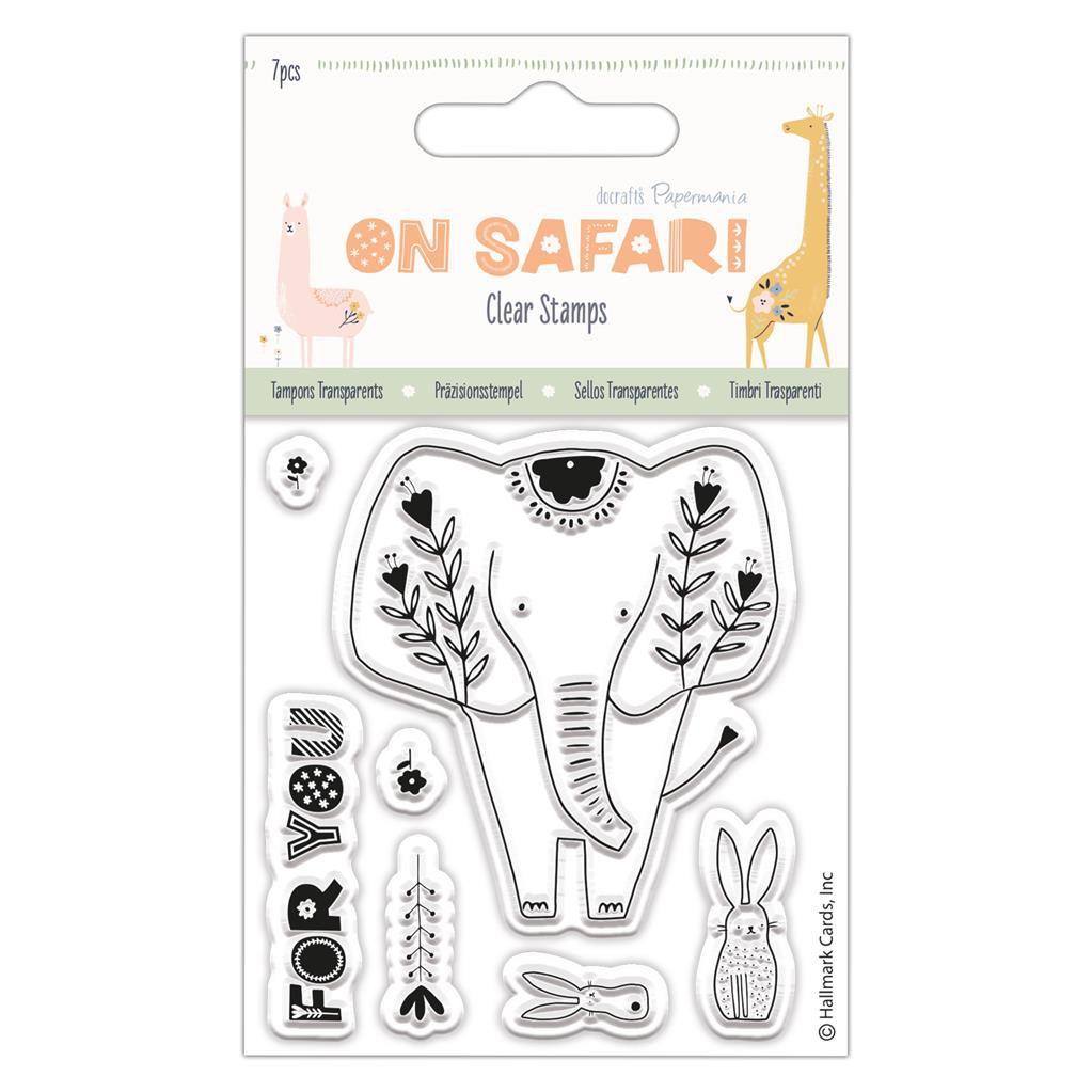 TAMPONS TRANSPARENTS ON SAFARI - Elephant