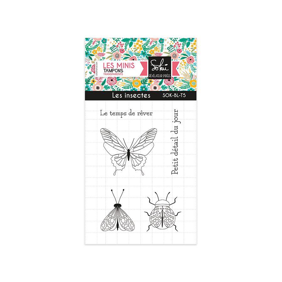 TAMPONS TRANSPARENTS SO\'BLOOM - les insectes