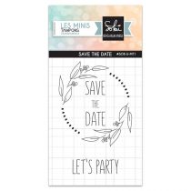 TAMPONS TRANSPARENTS SO\'SPECIAL - Save the date
