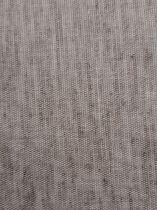 Toile coton adhésive 300x300 mm beige légères striures marron