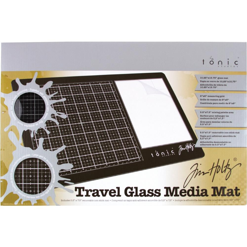 TRAVEL GLASS MEDIA MAT