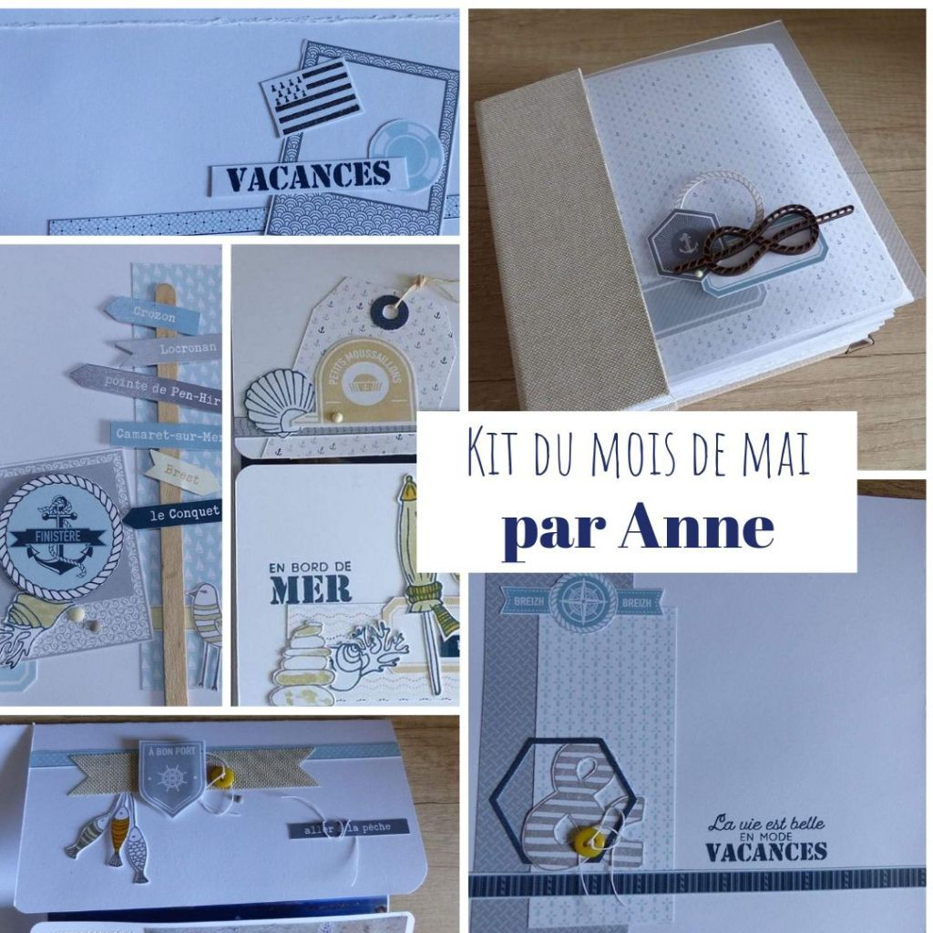 TUTORIEL ALBUM MAI 2019 PAR ANNE