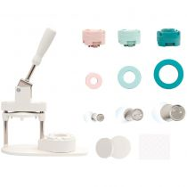 We R Memory Keepers Button Press Bundle - Machine à badges