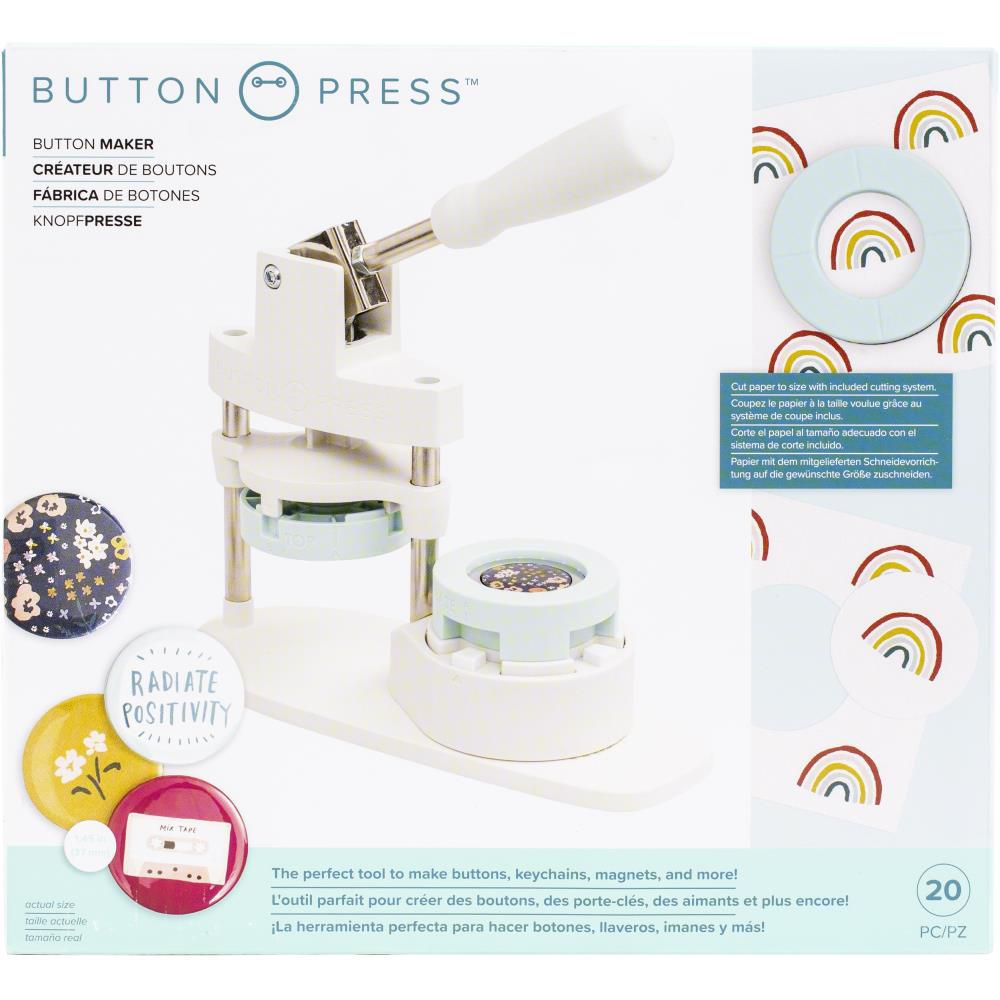 We R Memory Keepers Button Press Kit