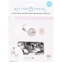 We R Memory Keepers Button Press Refill Pack 30/Pkg - Large (25mm)